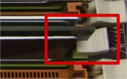 Ergots barrettes RAM PC fixe